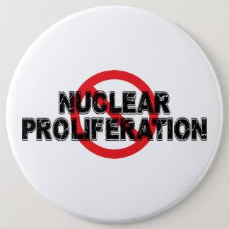 Bóton Redondo 15.24cm Proliferação nuclear da proibição