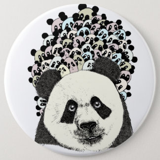 Bóton Redondo 15.24cm Siga a panda
