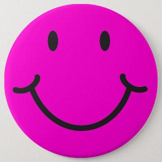 Bóton Redondo 15.24cm smiley face