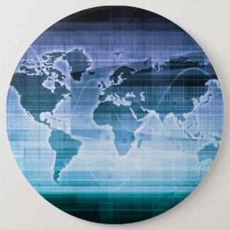 Bóton Redondo 15.24cm Soluções globais da tecnologia