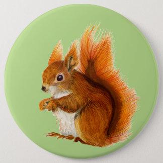 Bóton Redondo 15.24cm Trabalhos de arte dos animais selvagens da pintura