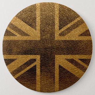 Bóton Redondo 15.24cm Vintage #3 da bandeira de Reino Unido