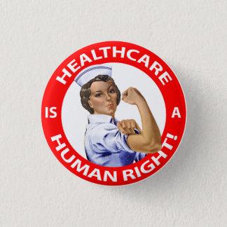"""Bóton Redondo 2.54cm A enfermeira """"Rosie"""" diz que os """"cuidados médicos"""