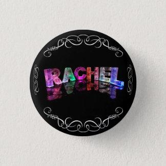 Bóton Redondo 2.54cm A Rachel conhecida em 3D ilumina-se (a fotografia)