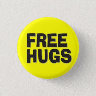 Bóton Redondo 2.54cm Abraços livres