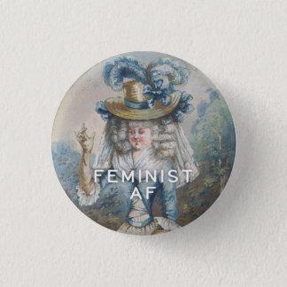 Bóton Redondo 2.54cm AF feminista