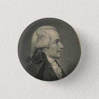 Bóton Redondo 2.54cm Alexander Hamilton que grava o botão