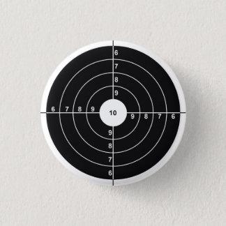 Bóton Redondo 2.54cm Alvo do tiro