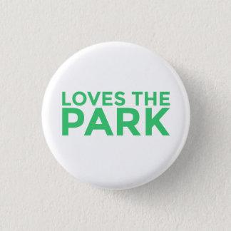 Bóton Redondo 2.54cm Ama o botão do parque