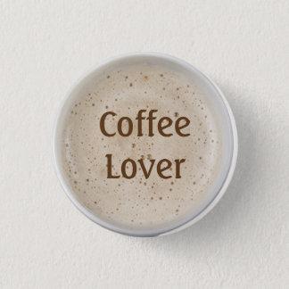 Bóton Redondo 2.54cm Amante do café