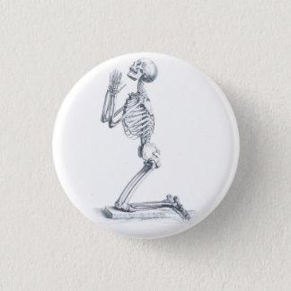 Bóton Redondo 2.54cm Anatomia do botão dos ossos