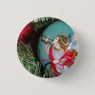 Bóton Redondo 2.54cm Anjo do Natal - arte do Natal - decorações do anjo