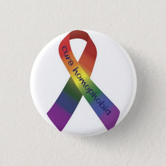 Bóton Redondo 2.54cm anti homofobia