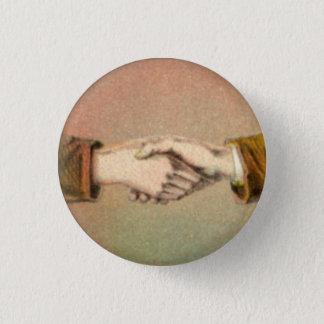 Bóton Redondo 2.54cm Aperto de mão botão redondo de 1 polegada