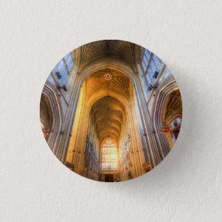 Bóton Redondo 2.54cm Arquitetura da abadia do banho