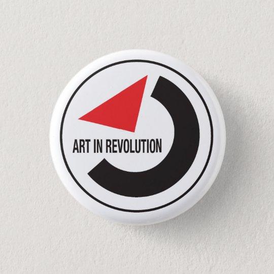 Bóton Redondo 2.54cm Arte em revolução