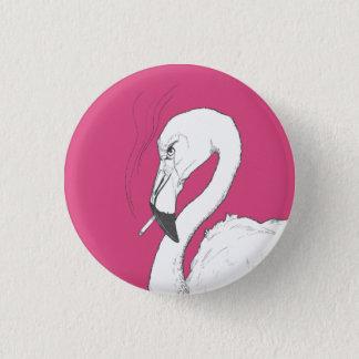 Bóton Redondo 2.54cm Arte subtil amarga do botão | da ilustração do