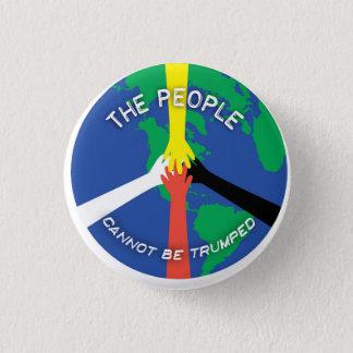 Bóton Redondo 2.54cm As pessoas não podem Trumped - botão