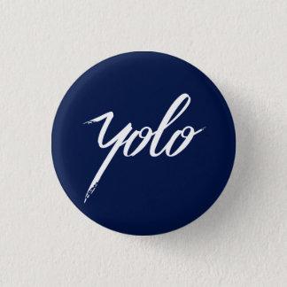 Bóton Redondo 2.54cm Azul de YOLO