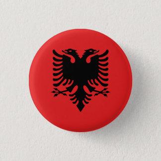 Bóton Redondo 2.54cm Bandeira albanesa patriótica