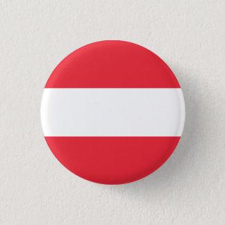 Bóton Redondo 2.54cm Bandeira austríaca patriótica