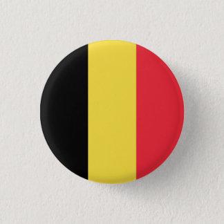 Bóton Redondo 2.54cm Bandeira belga patriótica