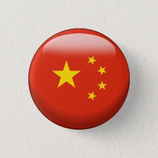 Bóton Redondo 2.54cm Bandeira de China