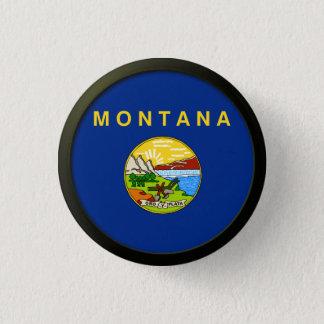 Bóton Redondo 2.54cm Bandeira de Montana