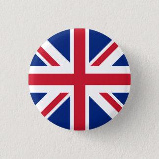 Bóton Redondo 2.54cm Bandeira de Reino Unido
