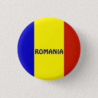 Bóton Redondo 2.54cm Bandeira de Romania