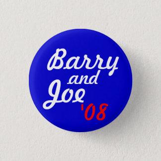 Bóton Redondo 2.54cm Barry e Joe '08 - personalizado