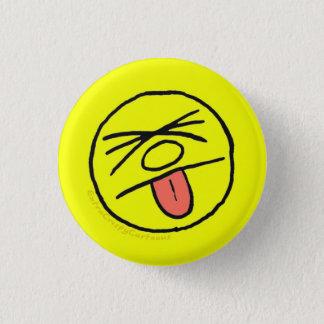 """Bóton Redondo 2.54cm """"Blech friável extra!"""" Pin do logotipo (pequeno)"""