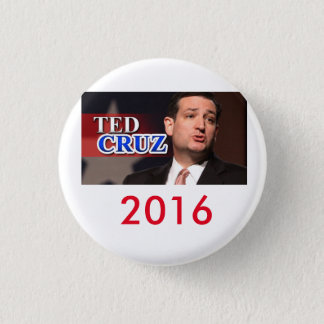 Bóton Redondo 2.54cm Botão 2016 de Ted Cruz Pinback