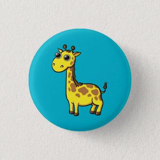 Bóton Redondo 2.54cm Botão animado do girafa
