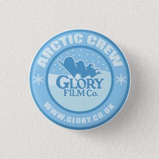 Bóton Redondo 2.54cm Botão ártico do grupo da glória