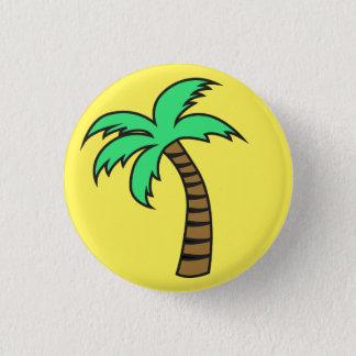 Bóton Redondo 2.54cm Botão bonito do Pin do crachá da palmeira