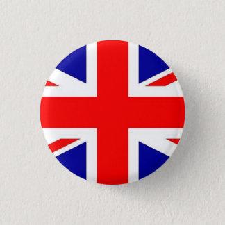 Bóton Redondo 2.54cm Botão BRITÂNICO da bandeira