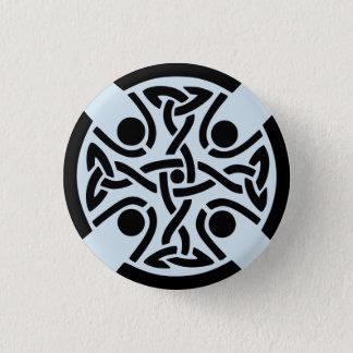 Bóton Redondo 2.54cm Botão celta do design do nó