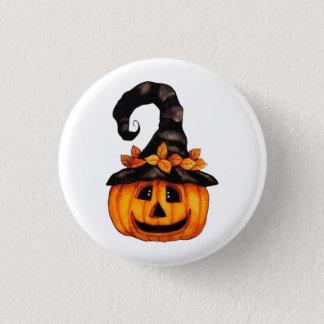 Bóton Redondo 2.54cm Botão da abóbora da Jack-o-Lanterna do Dia das