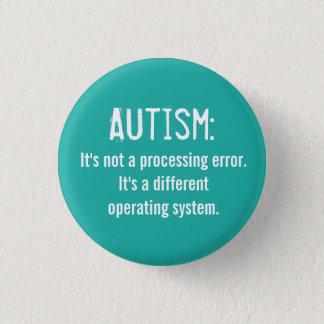 Bóton Redondo 2.54cm Botão da aceitação do autismo: Sistema operativo