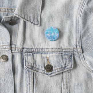 Bóton Redondo 2.54cm Botão da alegria do algodão doce por