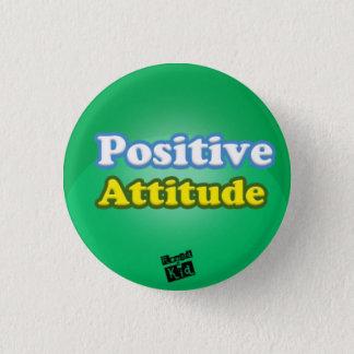 Bóton Redondo 2.54cm Botão da atitude positiva