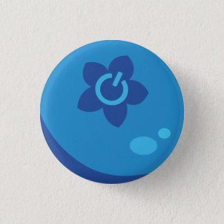 Bóton Redondo 2.54cm Botão da baga dos meios