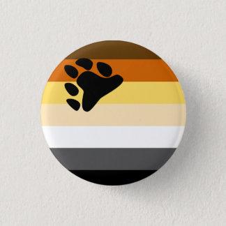 Bóton Redondo 2.54cm Botão da bandeira do orgulho do urso