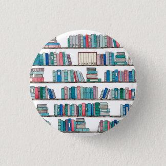 Bóton Redondo 2.54cm Botão da biblioteca