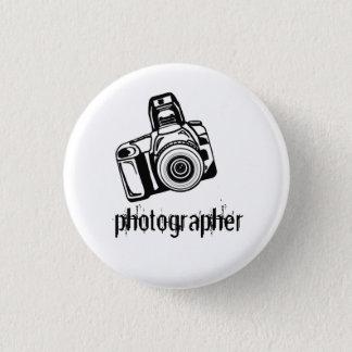Bóton Redondo 2.54cm Botão da câmera do fotógrafo