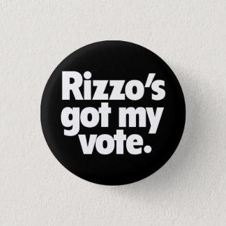 Bóton Redondo 2.54cm Botão da campanha de Frank Rizzo 1968