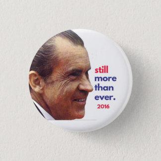 Bóton Redondo 2.54cm Botão da campanha de Nixon