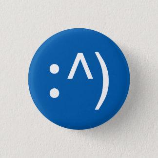 Bóton Redondo 2.54cm Botão da cara do código do geek