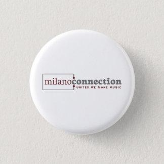 Bóton Redondo 2.54cm Botão da conexão de Milão